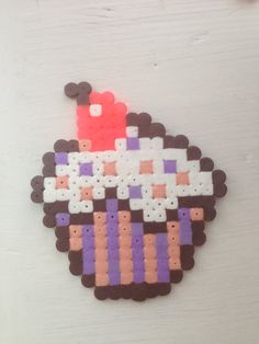 Cupcake perler beads by MEAGBEADS