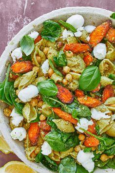 Pasta Recipes, Salad Recipes, Cooking Recipes, Healthy Recipes, Food Crush, Recipes From Heaven, Fabulous Foods, Nachos, Summer Recipes