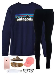"""""""He has a girlfriend now"""" by theperksofbeinghope ❤ liked on Polyvore featuring Patagonia, NIKE, TravelSmith and S'well"""