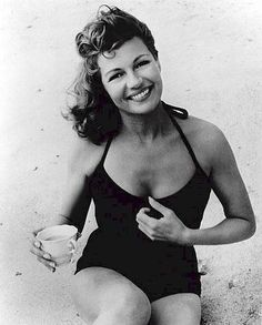 """Rita Hayworth - As the beautiful woman she was before Hollywood fiddled with her by moving her hairline up, and """"fixed"""" her nose and eyes."""