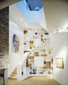 many shelves