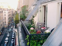 1st Arrondissement apartment balcony
