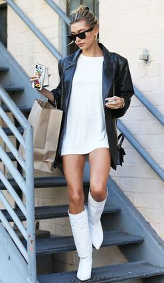 14 Ways Celebrities Are Styling Popular Boot Trends | Who What Wear UK