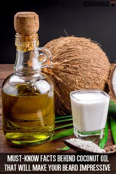 MUST-KNOW Facts Behind Coconut Oil That Will Make Your Beard Impressive From beardoholic.com