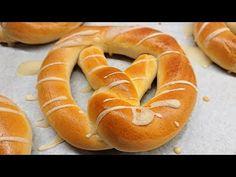 Bread Dough Recipe, Winter Food, Pretzel, Bagel, The Creator, Cooking Recipes, Fresh, Youtube, Kitchen
