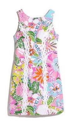 d1ea35658b1e LILLY PULITZER FOR TARGET WOMEN S NOSEY POSEY Nosie Posie SHIFT DRESS 16