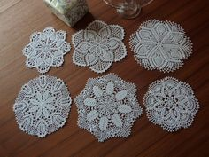 White Lace Doilies In Traditional Patterns  by Aimezvousclassique