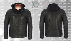 C118 Rp 1, Leather Jacket, Athletic, Jackets, Fashion, Studded Leather Jacket, Down Jackets, Moda, Leather Jackets