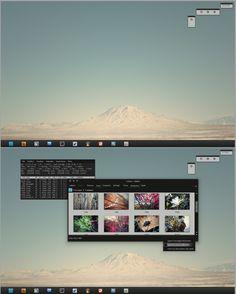 A very beautiful KDE desktop // linux desktop customization