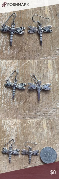 Earrings Sterling silver solid 925 vintage Earrings Sterling silver solid 925 vintage Jewelry Earrings