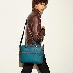 HUDSON 5 BAG IN BURNISHED CROSSGRAIN LEATHER - Alternate View 1