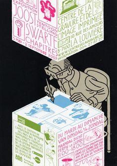 Joost Swarte - Tentoonstelling Swarte Chapitres (2007) - W.B.