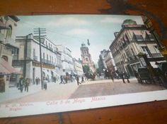 Calle 5 de Mayo. Mexico.
