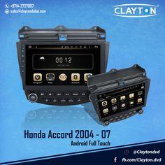 http://www.claytondubai.com/android-fta Honda City 2004 - 2007 Android Full Touch  #honda #accord #full #touch #android #navigation #gps #cargps #carnavi #dubai #clayton #car #uae #cardvd #dvds