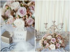 wedding inspiration gatsby | No wedding would be complete without an actual cake and Elizabeth's ...