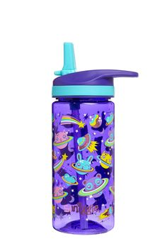 Girls Smiggle Hooray Junior Water Bottle With Removable Silicone Spout - Purple Minnie Toys, Minnie Mouse Cookies, Unicorn Pencil Case, Unicorn Cups, Hello Kitty Coloring, Cute Water Bottles, Apple Watch Accessories, Cute School Supplies, Bulk Candy