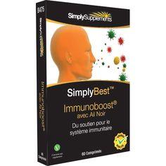 ImmunoBoost est une formule avancée qui contient de l'ail noir pouvant favoriser la défense immunitaire et contrôler le cholestérol.Facilement digéré par le corps.