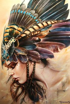 """Fly away"" by Brian M Viveros, 2016 #modern #painting"