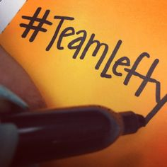 #TeamLefty #LeftHanded #TeamLeftHanded    left handed people are just way cooler