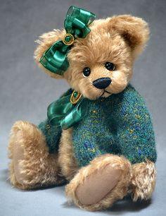 Prudence OOAK Mohair Teddy Bear by Vicky Lougher #artistbear #artistbears #teddybear #handmade