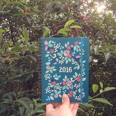New!!! #calendar #weekcalendar #2016 #polkkajam #illustration #design #cooperation #putinki