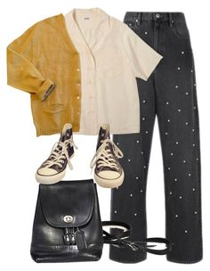 """""""Untitled #3856"""" by plainly-marie ❤ liked on Polyvore featuring Étoile Isabel Marant, Mustard Seed and Converse"""