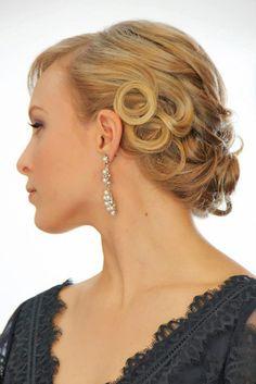 The 89 best hair for weddings images on Pinterest   Hair make up ...