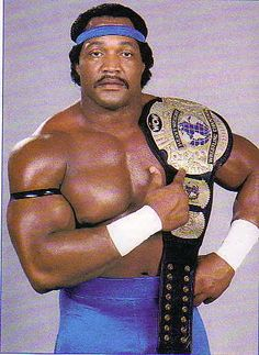 Ron Simmons as WCW Champion, now in the Hall of Fame, One of the Greatest