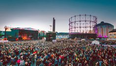 This Music Festival Flow At An Abandoned Helsinki Power Plant Looks Amazing & You Should Go Visit Helsinki, Massive Attack, One Wave, Cultural Events, City Landscape, Interesting History, Baltic Sea, Beautiful Buildings, Finland
