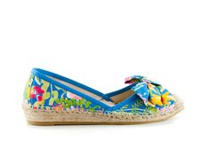 RAS shoes spring/summer new collection 2105. www.rasshoes.com/ #espadrilles #floral #print #bow