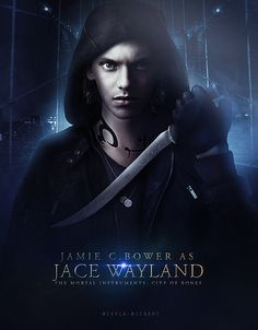 Jamie Campbell Bower as Jace Wayland.