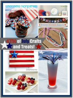 4th of July Crafts and Treat Ideas