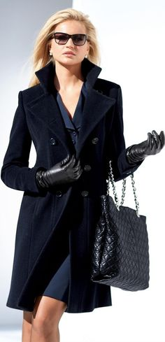 coats women are wearing in Paris | ... Looks  Street Styles! What To Wear To Work This Winter? | Fashion Tag http://weardownjacket.blogspot.com/  how pretty with this fashion CAOT! 2014 CANADA GOOSE JACKET discount for you! $169.99