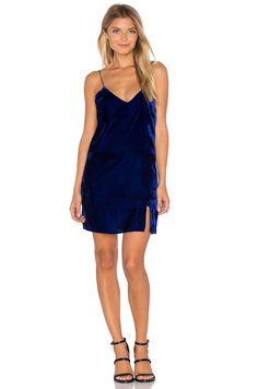Line & Dot Natalie Slip Dress in Cobalt Blue | REVOLVE