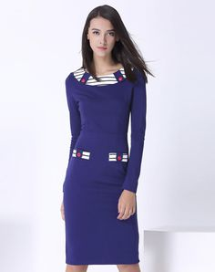 Check the details and price of this Blue Knitted Fashion Slim Fit Maxi Dress (Blue, JANGREST) and buy it online. VIPme.com offers high-quality Sheath Dresses at affordable price.