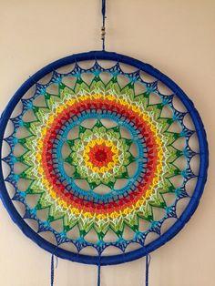ONE Crochet Earrings Pattern, Earring pattern, PDF File - Crochet openwork hoop earrings - PDF, pattern for advanced crocheters Motif Mandala Crochet, Crochet Doily Patterns, Crochet Art, Crochet Home, Crochet Designs, Crochet Crafts, Crochet Doilies, Yarn Crafts, Crochet Stitches