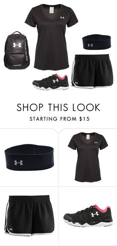 """""""would u wear it???"""" by sslootweg14 ❤ liked on Polyvore featuring Under Armour"""
