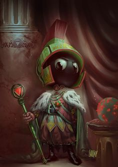 Best Art Ever (This week)--Marvin the Martian by Ricardo Chucky