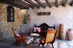 Mediterranean Patio Design Pictures Remodel Decor And Ideas