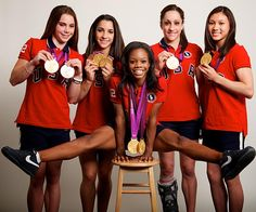 USA women's gymnastics team