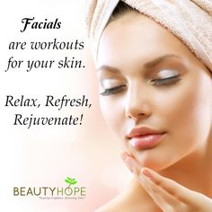 Sometimes, relaxing is indeed the most productive thing you can do. So pamper yourself with our soothing facial and let it reduce your fine lines, age spots, and relive your dehydrated skin. Schedule your next facial get ready to be more beautiful! Contact us at: (Waterloo Street): Tel: +65 6883 2293 | Hp: +65 8168 5199 Ang Mo Kio Avenue: Tel: +65 6458 2293 | Hp: +65 8228 2293 or visit our website at http://www.beautyhope.com.sg/ for inquiries and for your appointment today. #beautyhope