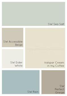 72 best coastal color palettes images paint colors home colors rh pinterest com