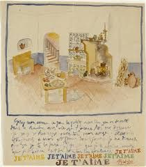 Letter from Pablo Picasso to Gaby Lespinasse, 1916