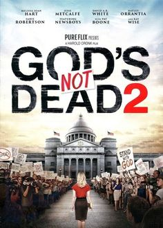 Dios No Esta Muerto 2 DVD (God's Not Dead 2) Pelicula Cristiana. Esta pelicula Cristiana en la contuacion de la pelicula Dios No Esta Muerto Parte Uno, con Indioma Espanol e Ingles, tambien subtitulos en espanol e ingles, When high school history teacher Grace Wesley is asked a question about Jesus in class, her reasoned response lands her in deep trouble.%2...