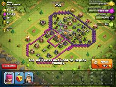 Not the best penis base I've seen but a penis nonetheless lol! (Clash of Clans)