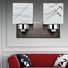 perete sconces 2 lumină simplu artistic modern, – USD $ 104.99