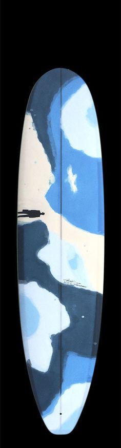 Mini Longboard / Manatee II | Picasso water camo