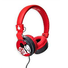 [Oh boy!]The thought of finding Mickey on your headphones will be music to your ears. Part of our contemporary MXYZ collection, they include a built-in microphone, in-line volume control, and adjustable headband design. Mickey Mouse Room, Minnie Mouse, Mickey Mouse Wallpaper, Best In Ear Headphones, Cat Headphones, 17 Kpop, Disney Surprise, Disney Fanatic, Disney Merchandise