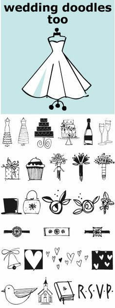 Wedding Doodles Too is the follow-up font to the popular Wedding Doodles. This font gives you all you need to make your own invitations, announcements, RSVP cards, save your date cards and thank you notes.  Check out Wedding Doodles, you may need both.