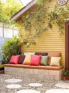 Cute bench idea...